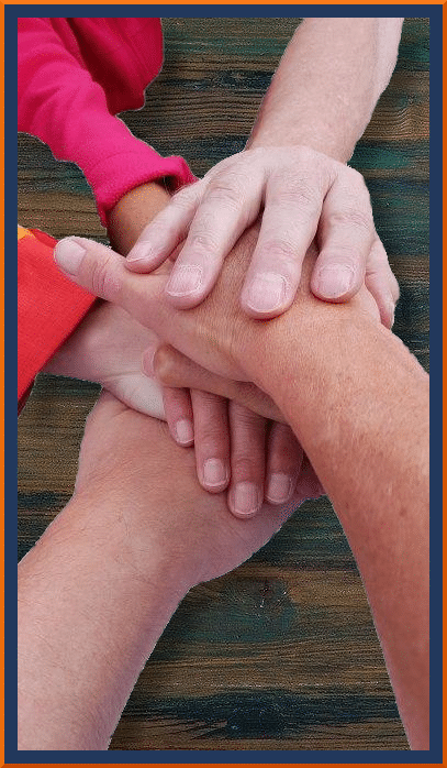 Händestapel - Spiel deines Lebens