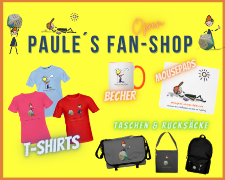Paules Fan-Shop-Spiel-deines-Lebens